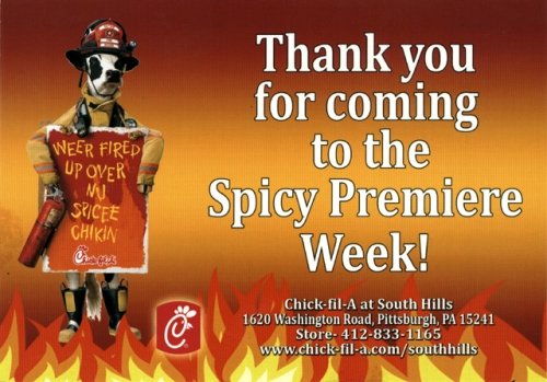 Thank you for coming to the Spicy Premiere Week!