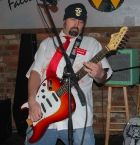 Eric Aixelsyd - Dewey Decibel FlipOut Guitar Lit Cigarette