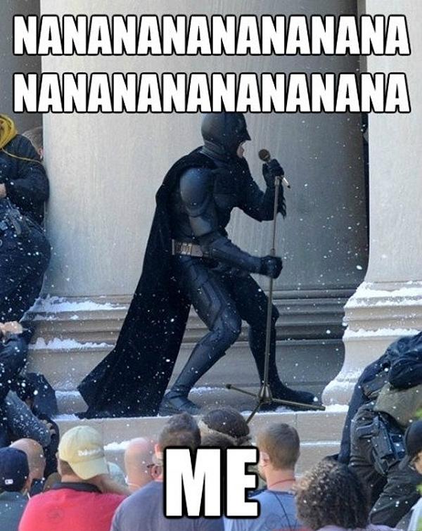 Batman - Mic Check