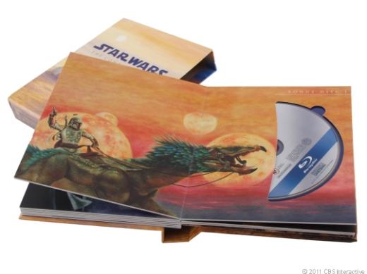Star Wars The Complete Saga Blu-ray Inside Artwork