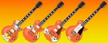 Poorly Thrown Together Iced Tea Guitars