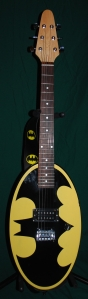 Six Flags Batman Guitar