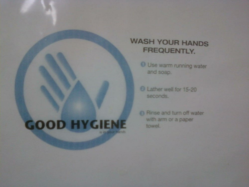 Wash Your Hands Frequently.  Also, don't forget to breathe.
