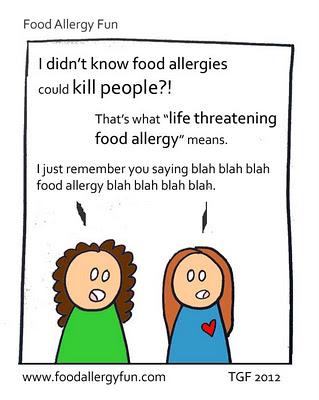 blah blah blah food allergy blah blah blah blah