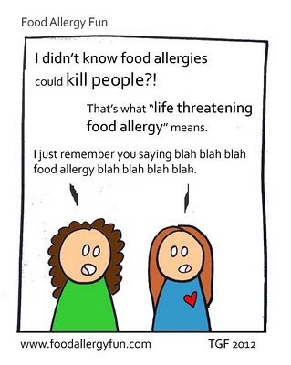 blah blah blah food allergy blah blah blah blah