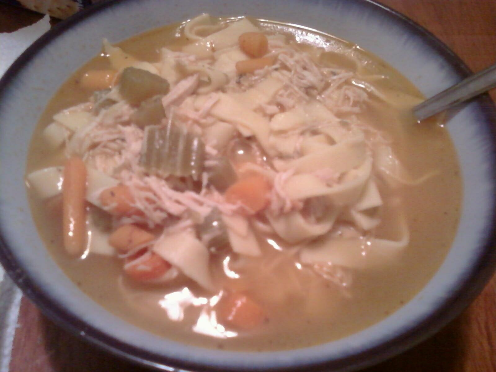 Turkey Noodle Soup!