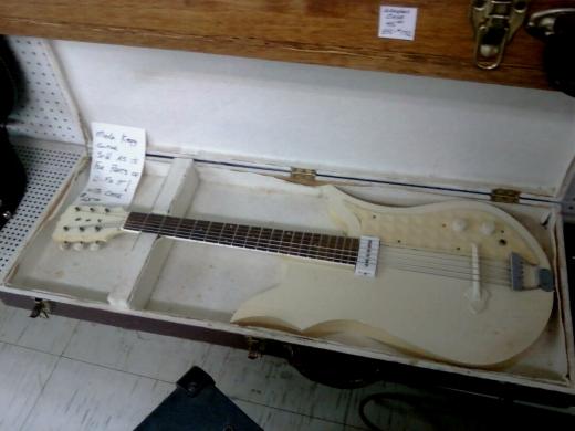 Merle R. Kegg - White Guitar