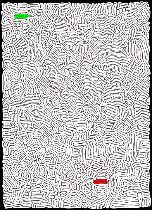 Bewildering Byway [Maze]