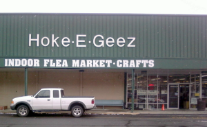 Hoke·E·Geez | INDOOR FLEA MARKET · CRAFTS
