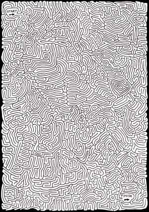 Peculiarly Perplexing Path [Maze]