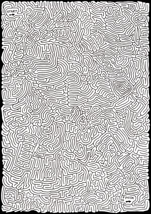 Peculiarly Perplexing Path [Maze]