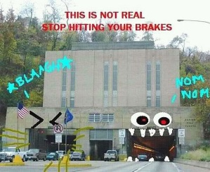 The Pittsburgh Tunnel Monster (as presented by Boring Pittsburgh)