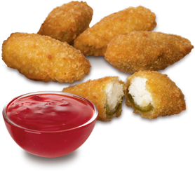 Arby's :: Jalapeno Bites® with Bronco Berry Sauce®