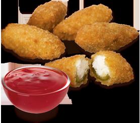 Arby's :: Jalapeno Bites® with Bronco Berry Sauce®