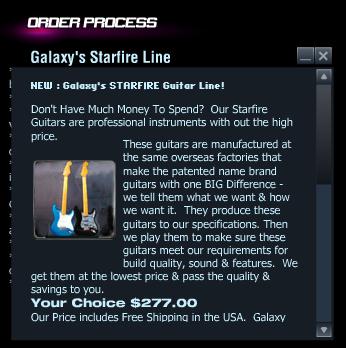 Galaxy Starfire