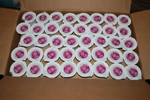 240 Packs of Bronco Berry Sauce!