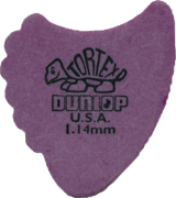Jim Dunlop Tortex Fin Pick 1.14mm (Purple)