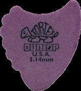 Jim Dunlop Tortex Fin Pick 1.14mm (Purple)