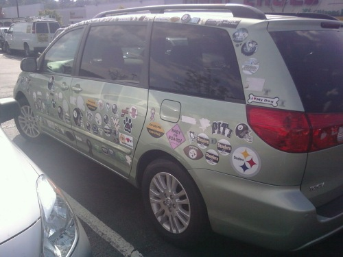 The Stickermobile!