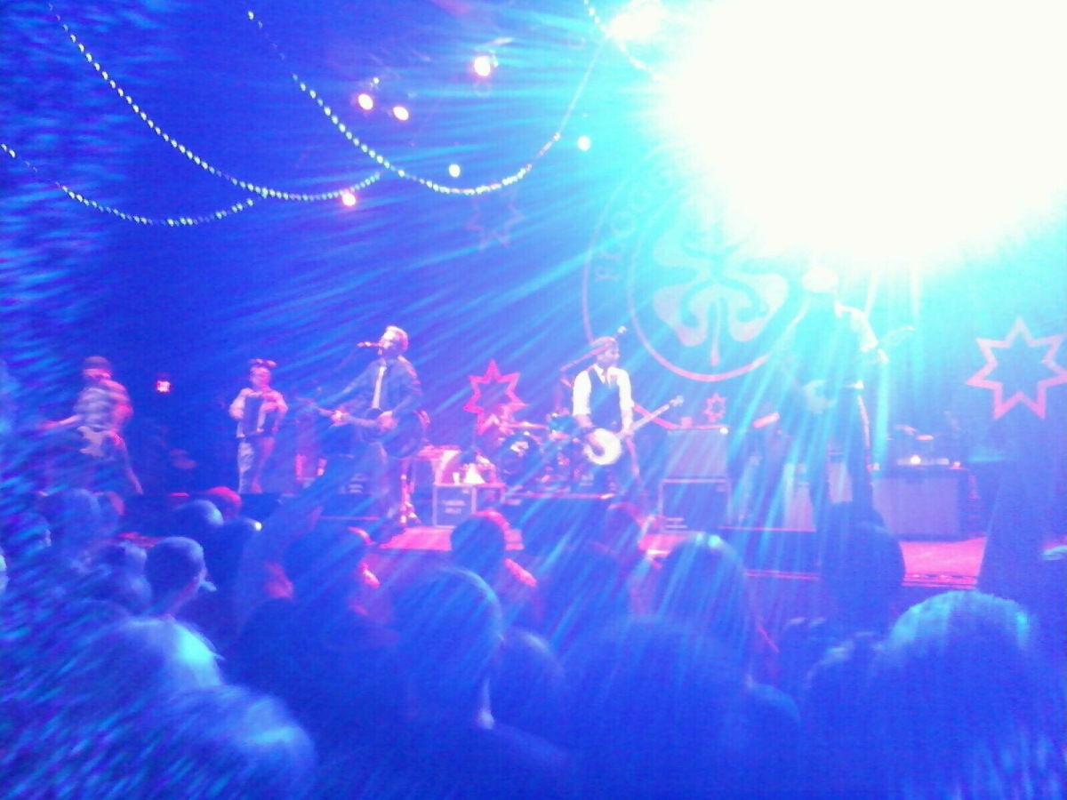 Flogging Molly   Stage AE (Pittsburgh, PA) 05/10/2012