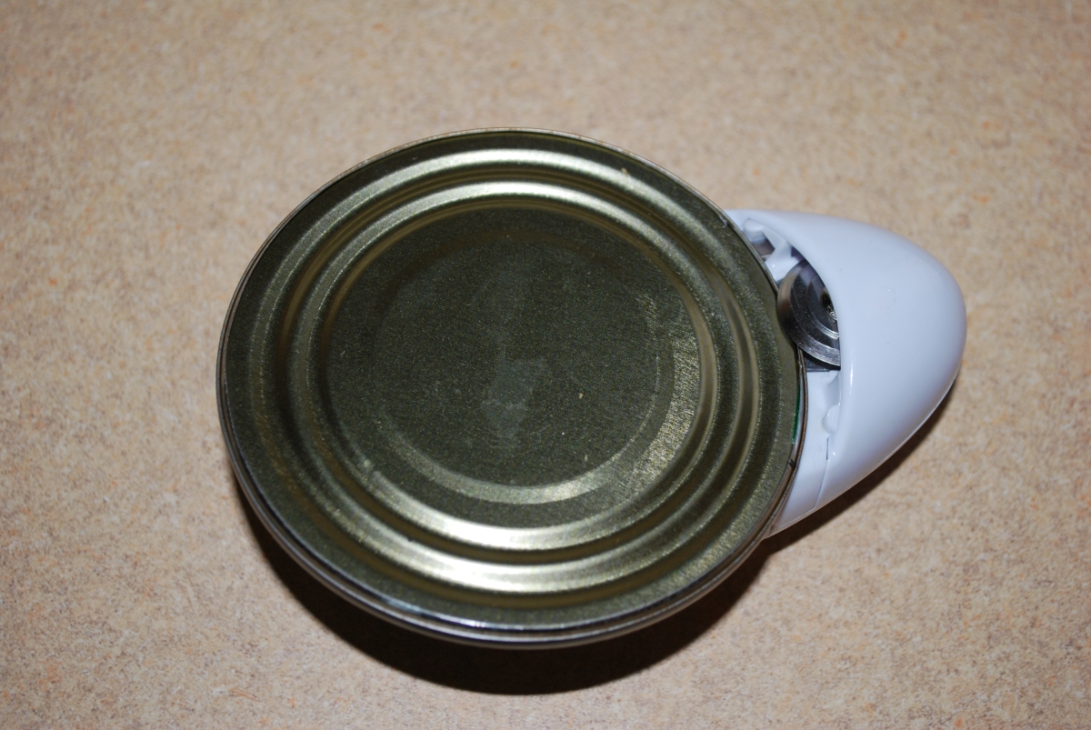 One Touch Can Opener - with Stuck Lid
