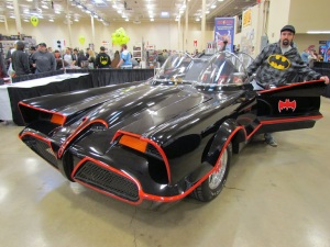 Eric AiXeLsyD with the Batmobile