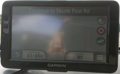 Skunk Foot Road