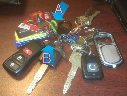 Ridiculous Key Ring
