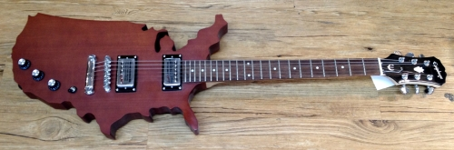 Epiphone USA Map Guitar