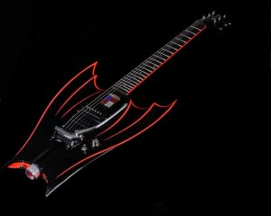 Hallmark Guitars Wing-Bat