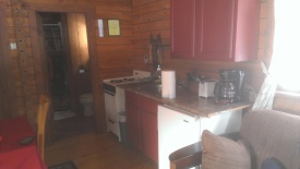 Forest Ridge Campgroundsa and Cabins   Allegheny Cabin - Kitchen