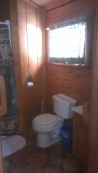 Forest Ridge Campgroundsa and Cabins | Allegheny Cabin - Bathroom