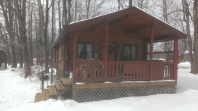 Forest Ridge Campgroundsa and Cabins   Allegheny Cabin