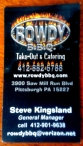Rowdy BBQ - Business Card
