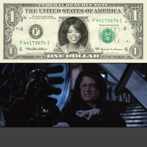 Oprah Money & Dick Cheney Power