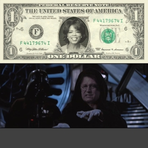 Oprah Money & Dick Cheney Power
