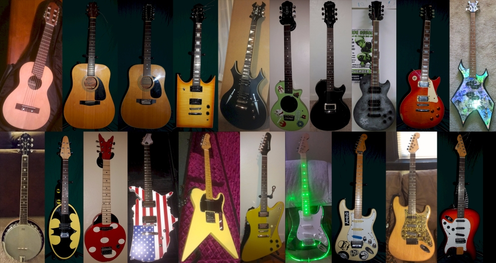 AiXeLsyD13's Guitars - Oct. 2015