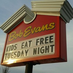 Bob Evans - Tuesday Night is Family Night