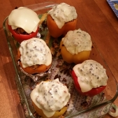 Those Other Stuffed Peppers - After Cheese