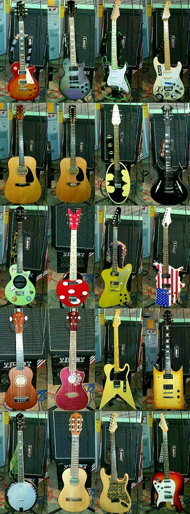 Guitar Collection 2017