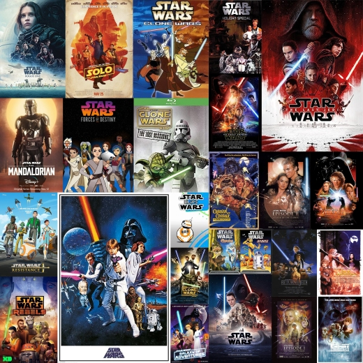 All the Star Wars Things