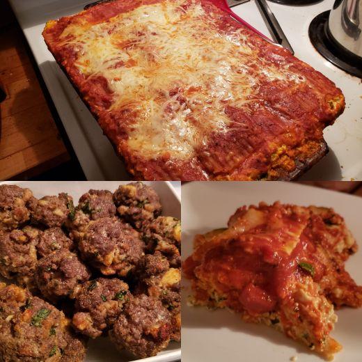 Lasagna & Meatballs