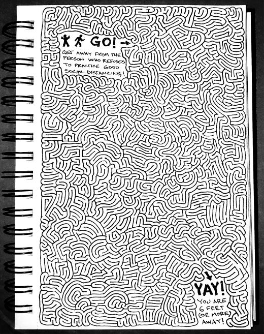 Social Distancing Maze