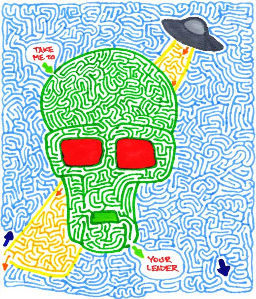 Alien Maze (Color)
