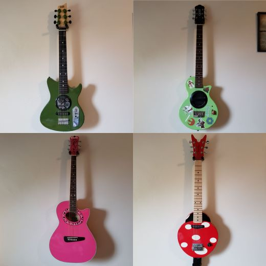 The Kids' Guitars