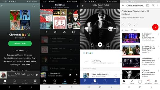 Christmas Playlists | Spotify • Amazon Music • Pandora • YouTube