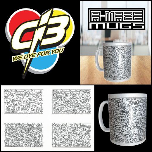 A-MAZE MUG by Ci3 & AiXeLsyD13