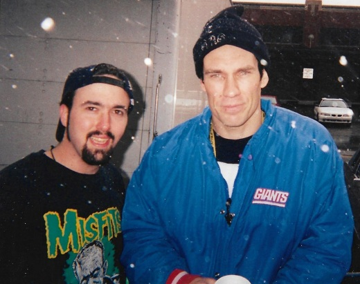 ERiC AiXeLsyD & DOyle Wolfgang Von Frankenstein (outside Metropol some time in the late 90's or early 00's.)